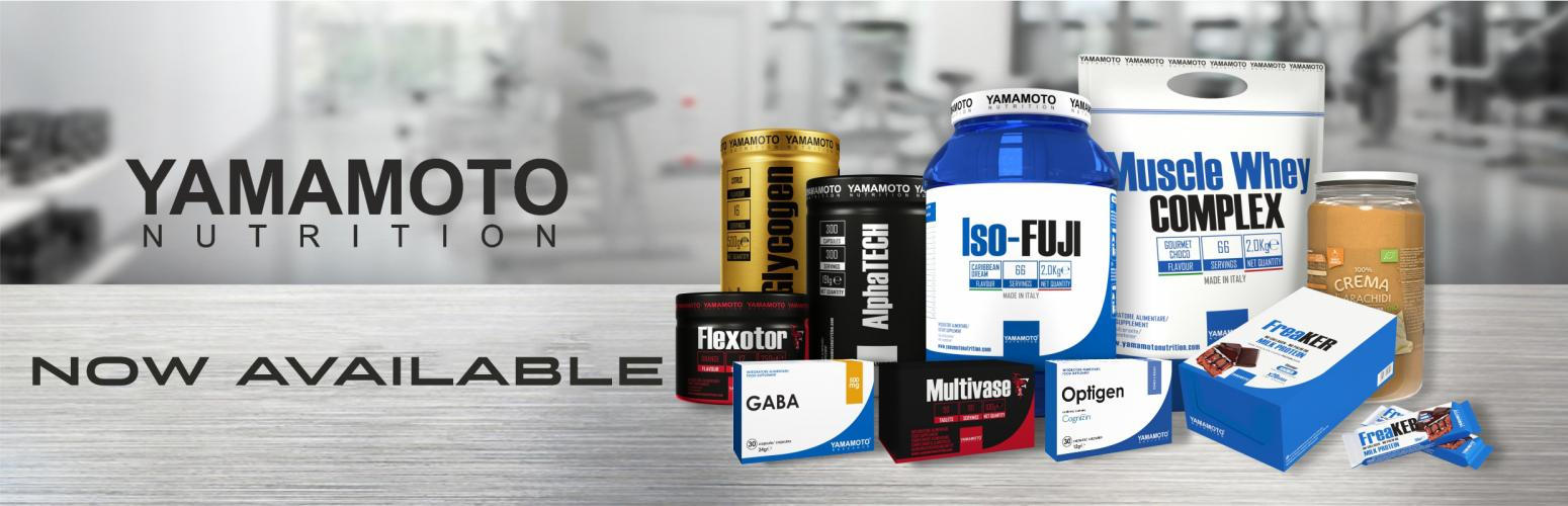 New Arrival!  Yamamoto Nutrition Already In Stock!